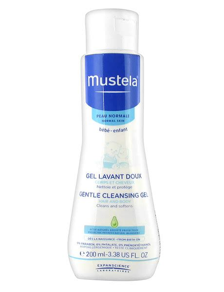 Mustela Cleansing 200 Ml mustela mustela 200ml gentle cleansing gel changing