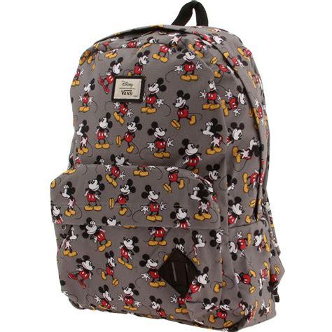 Backpack Mickey vans x disney skool ii backpack mickey mouse gray