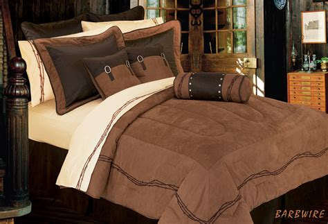 barbwire comforter set bedding texas bedspread super king