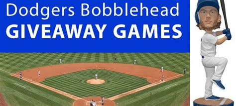 Dodger Giveaways - dodgers 2017 bobbleheads 11 great bobblehead giveaways