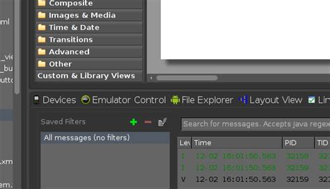 layout editor eclipse android eclipse android xml layout editor text editor is missing