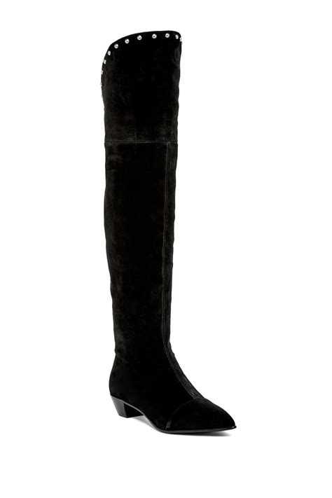Chic The Knee Marc By Marc Boot by Marc By Marc Lula Studded The Knee Boot