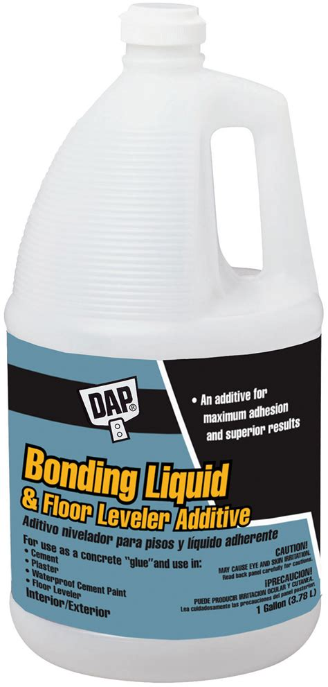 Floor Leveler by Bonding Liquid Floor Leveler Additive Dap
