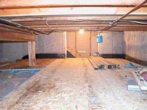 can a crawlspace be turned into a basement on the job