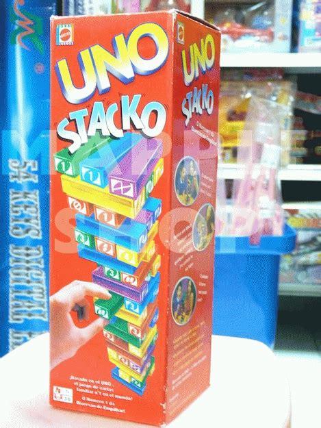 Uno Stacko By Plic Shop jual uno stacko permainan untuk anak keluarga mapple