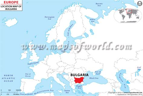 bulgaria on world map where is bulgaria location of bulgaria