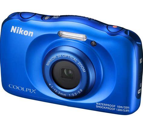 nikon tough buy nikon coolpix w100 tough compact blue free