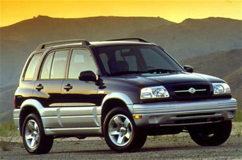 2000 Suzuki Grand Vitara Review 2000 Suzuki Vitara Review