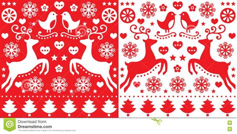 pattern card stock christmas cute red seamless pattern greetings card stock