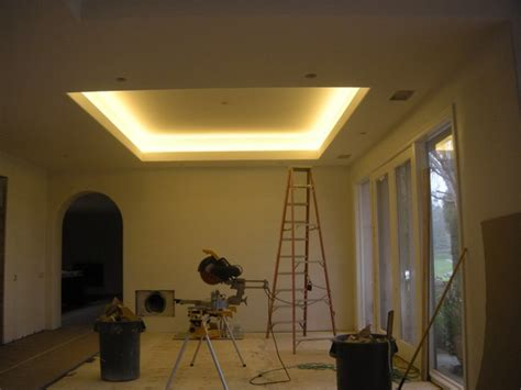 led living room lighting rancho santa fe home remodel with coved ceiling led