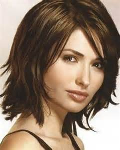 hairstyles for thin hair shoulder length images