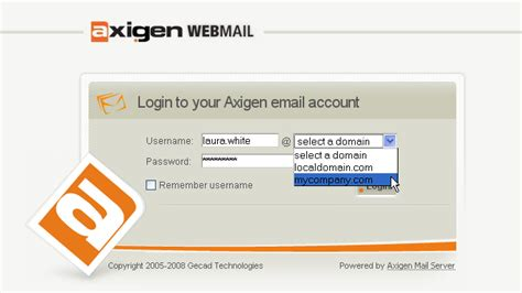 web login axigen mail server documentation accessing leaving the