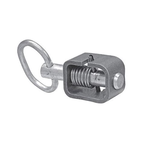 spring loaded and latch buyers b2598lp 5 8 quot spring latch with plain tube and 1 31