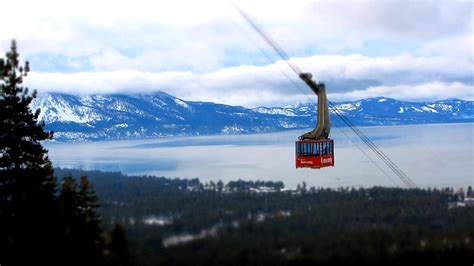 Heavenly Ski Gift Card - heavenly tram south lake tahoe photograph by brad scott