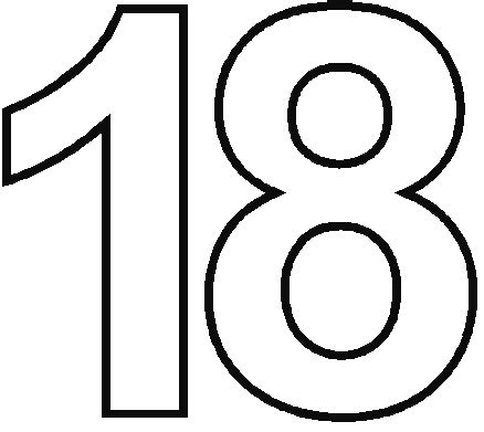 number 18 coloring pages coloring pages 11 thu 20