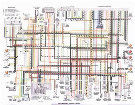 suzuki gsxr 750 wiring diagram gsx r suzuki gsx r750