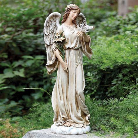 outdoor angel statues peace indoor outdoor statue