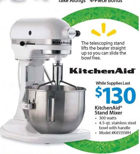 kitchenaid 4 5qt stand mixer 130 black friday chicago