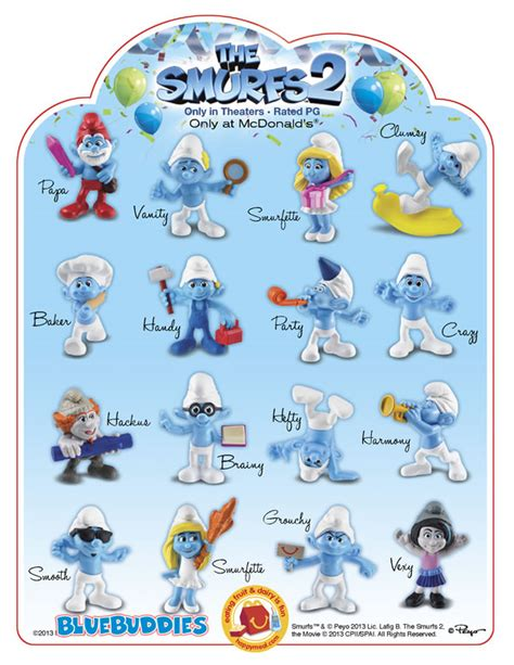 smurfs characters names and pictures www pixshark com