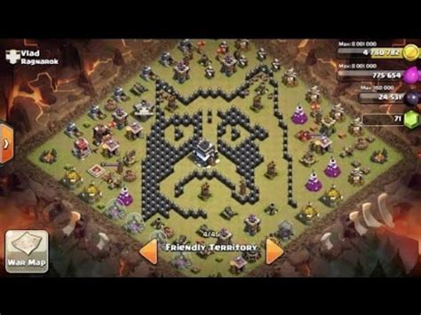 coc layout funny funny coc base layouts youtube
