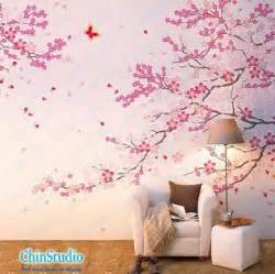 cherry blossom bedroom romantic cherry blossom wall decal by chinstudio