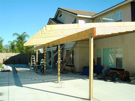 how to build a patio awning build a patio cover how to build a shed roof patio cover