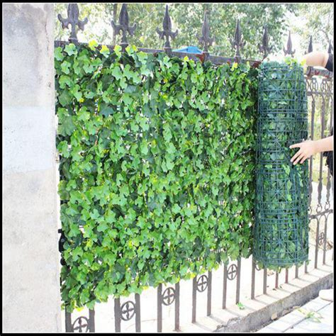 Cherry Blossom Home Decor by Vertical Garden Green Wall Module Artificial Hanging Wall