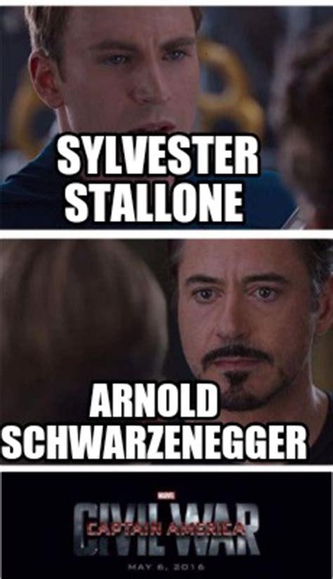 Stallone Meme - meme creator sylvester stallone arnold schwarzenegger