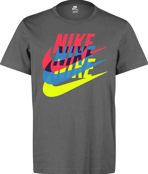 nike dl stutter t shirt grey