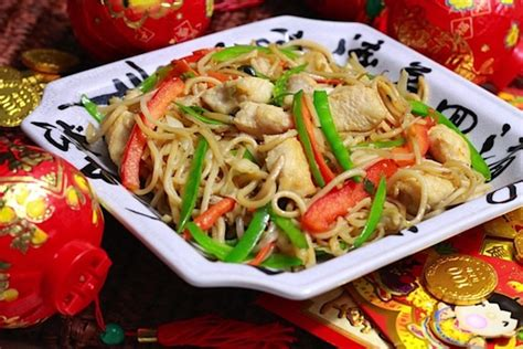 new year eat noodles noodles with chicken weelicious