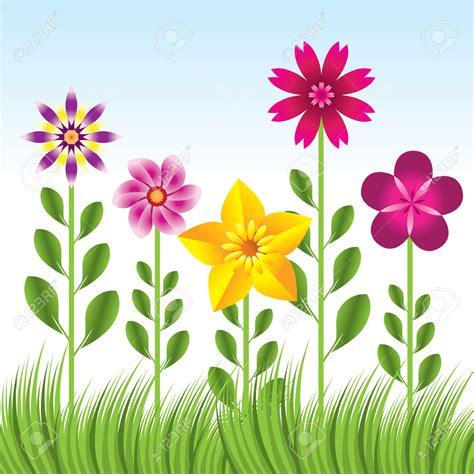 Flower Garden Background Cartoon Background Ideas Flower Garden Clipart