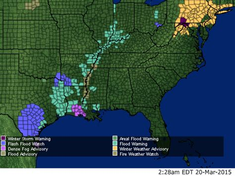 weather map southeast us southeast alerts wmbfnews myrtle florence sc