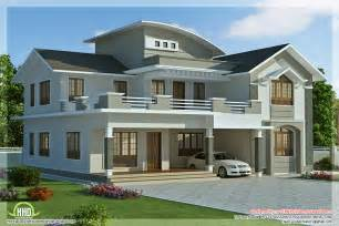 New Homes Designs 2960 sq feet 4 bedroom villa design kerala home design