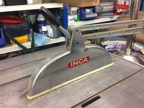 major saw bench inca major 341018 precision bench saw for sale in