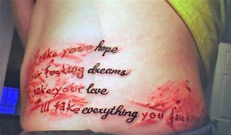 small lyric tattoos bmth quote tattoos c22059cff4 48729417 o2 jpg tattoos