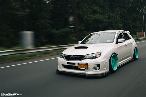 subaru stancenation breaking necks on tiffany s ian s subaru sti