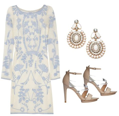 wedding guest attire  chic outfits  daytime evening
