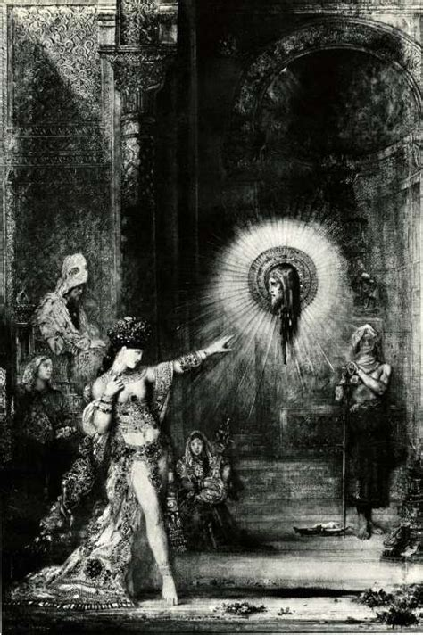 quot the apparition quot by gustave moreau