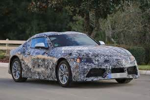 2018 Toyota Supra 2018 Toyota Supra Prototype Debuts Production Looks