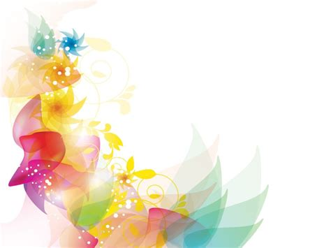 Free Powerpoint Backgrounds And Templates Drawing Colorful Flower Backgrounds For Powerpoint Templates