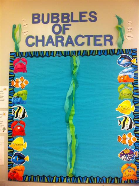 character education themes elementary 52 best under the sea classroom images on pinterest