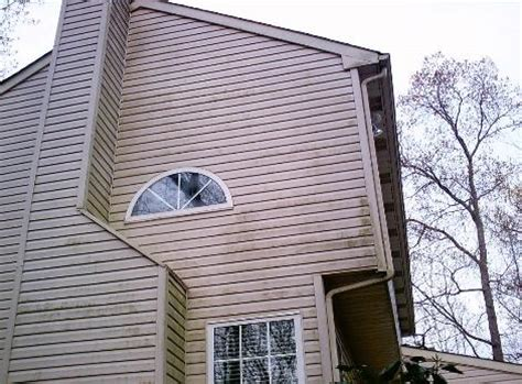 how to remove mold from house siding powerwashing