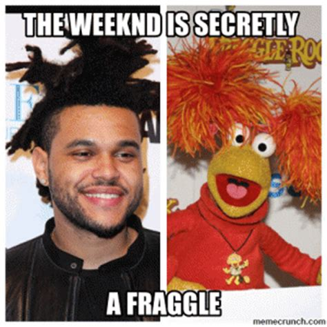 The Weeknd Hair Meme - the weeknd is secretlya fraggle