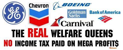 corporate welfare vs social welfare america s real welfare queens puppet masters sott net