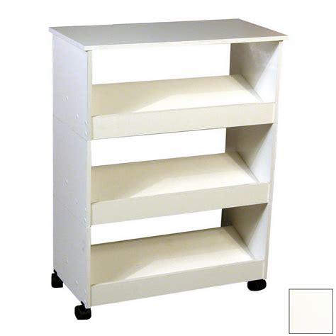 white wood shoe storage shop venture horizon white wood shoe storage at lowes