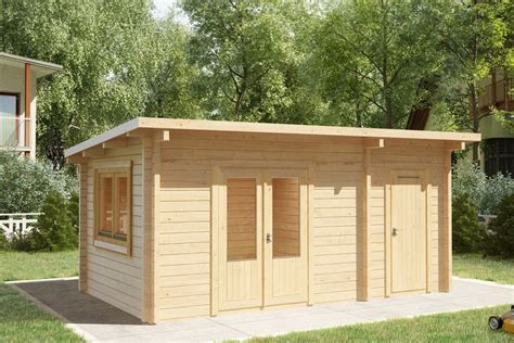 Garden Room Shed by Garden Room And Shed Combined Tom 44mm 3 X 5 M
