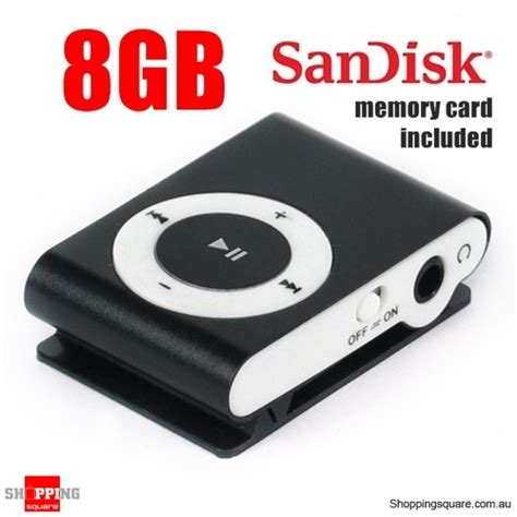 Memory Buat Dslr 8gb mini clip mp3 player black sandisk memory card included shopping shopping
