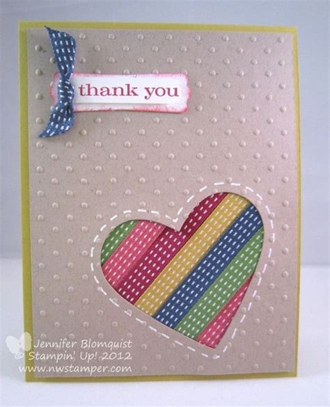 Handmade Cards Using Ribbon - 17 best images about handmade cards thank you on