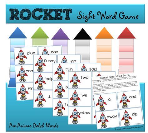 4 Letter Words Rocket rocket sight words