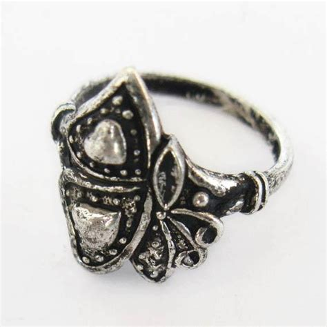 miao silver jewelry finger ring 5431